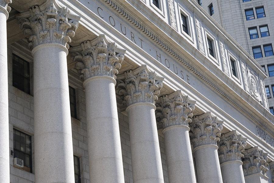 Court House Columns