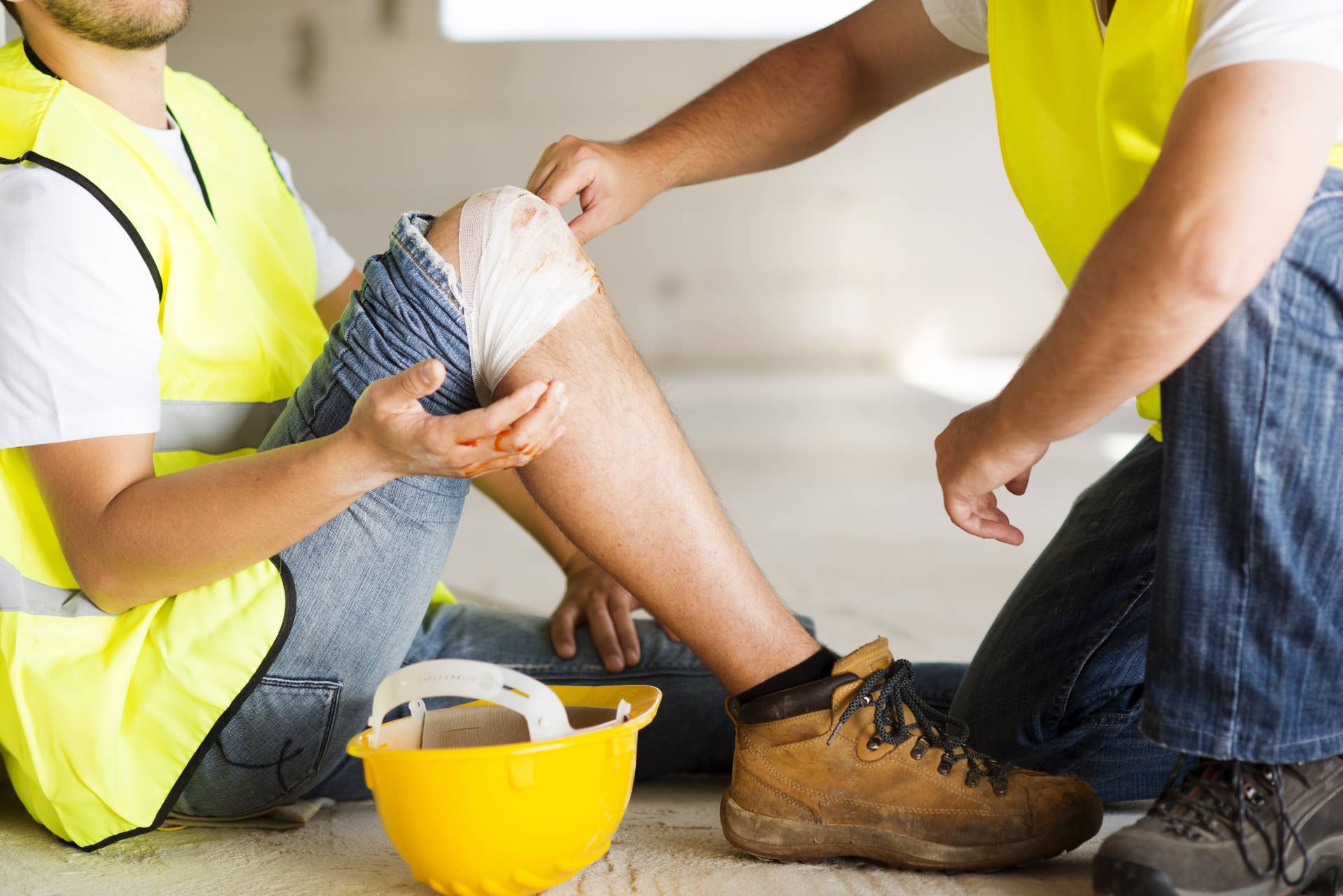 Injury from faulty Equipment in a Statham, GA business
