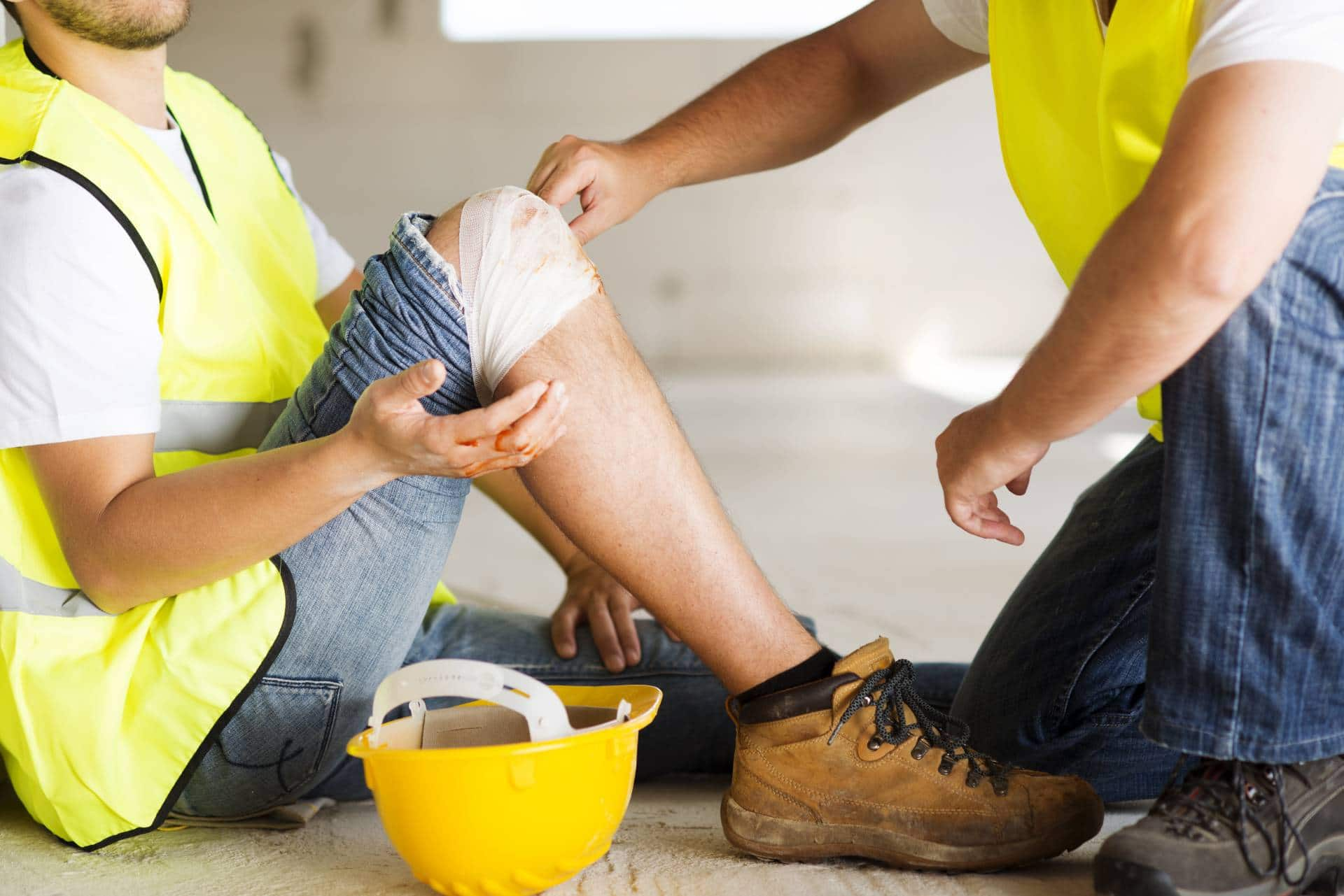 Hurt on the job? Schedule a free consultation with our personal injury lawyers at the Angell Law Firm in Brookhaven.