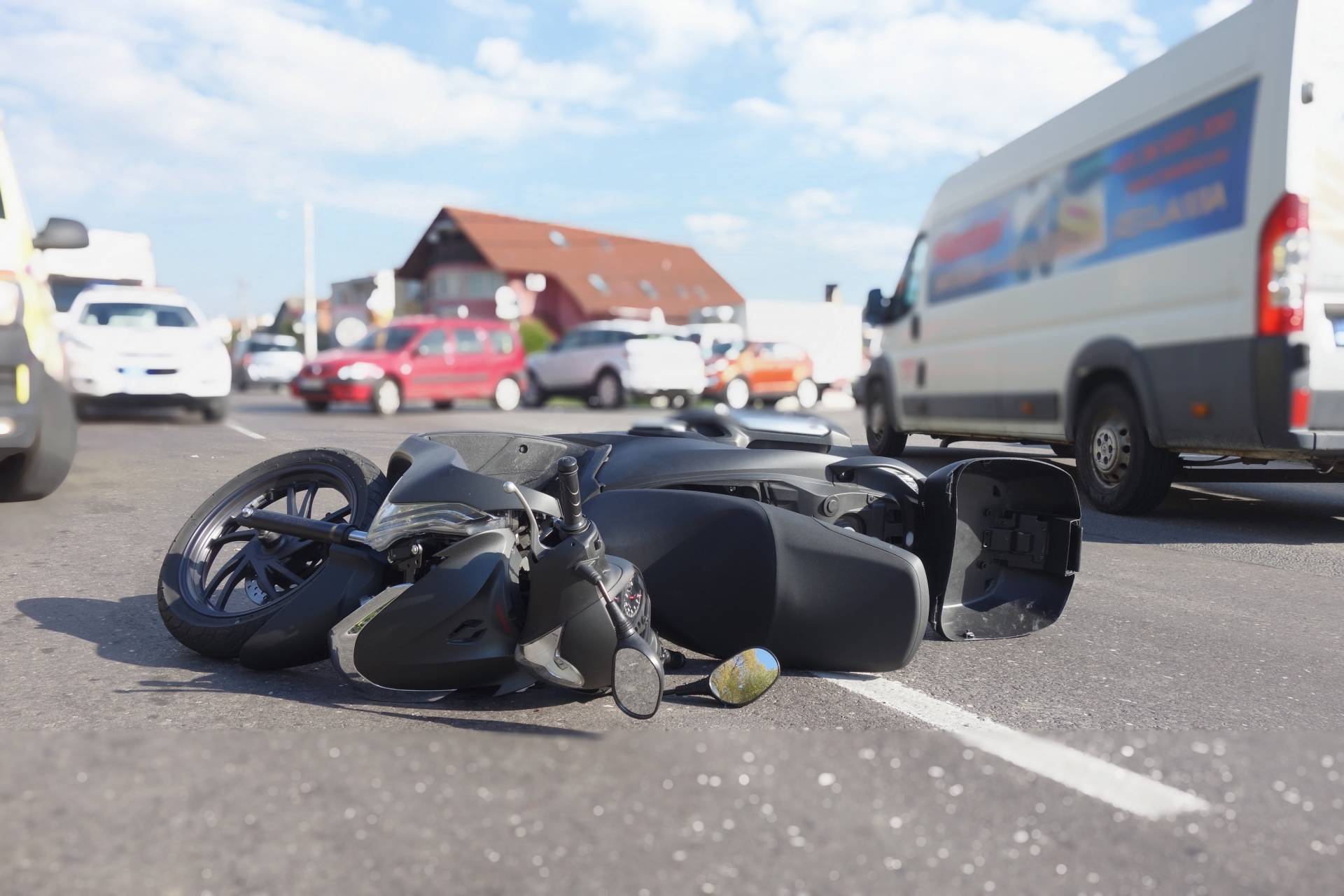 A helmet will help keep you safe and strengthen your motorcycle accident injury claim.